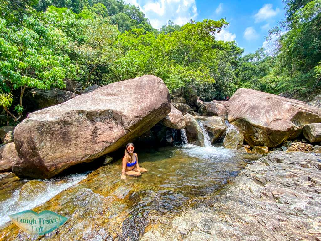 waterfalls and first stretch of tai shing stream hong kong - laugh travel eat