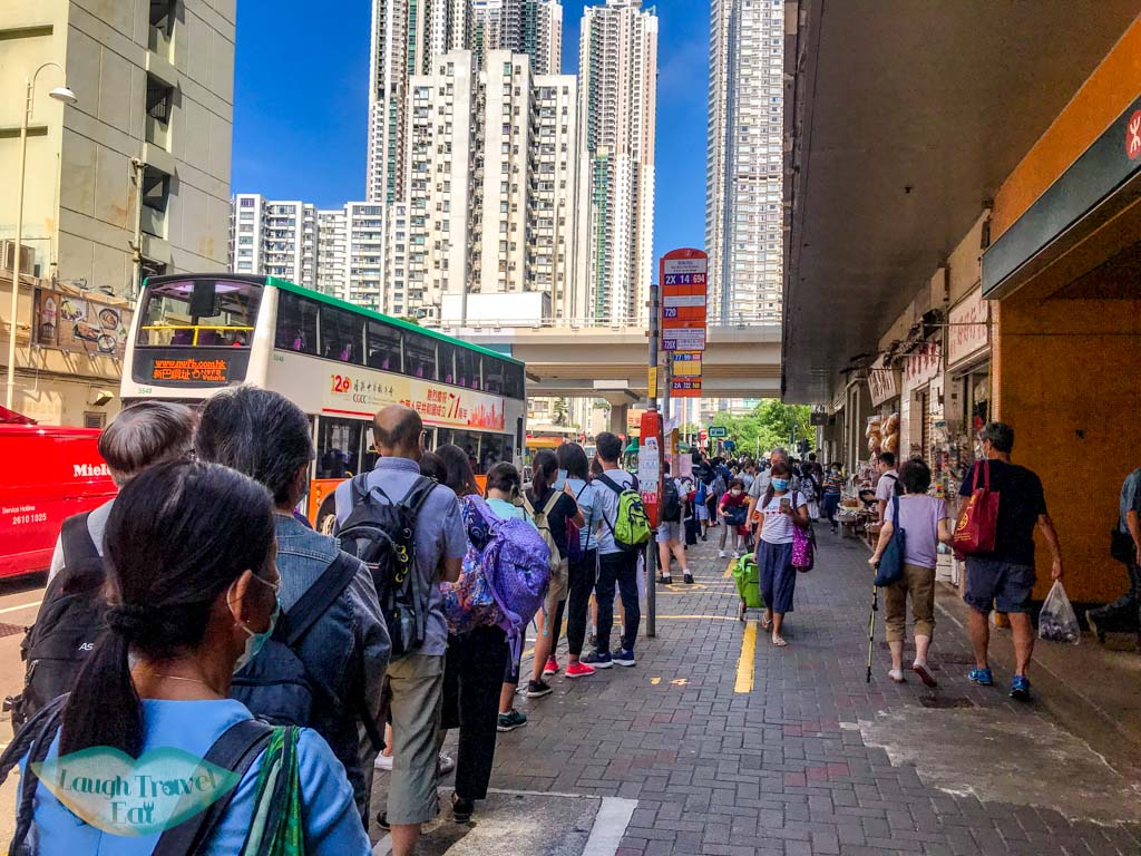 bus 14 sai wan ho to stanley fort hong kong - laugh travel eat
