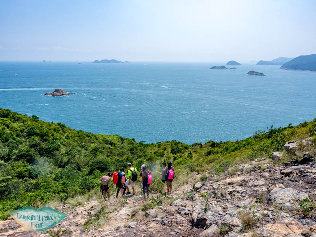 trail from goldfish arch top to view point jin island sai kung hong kong - laugh travel eat-2