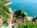 view of goldfish arch from viewpoint jin island sai kung hong kong - laugh travel eat