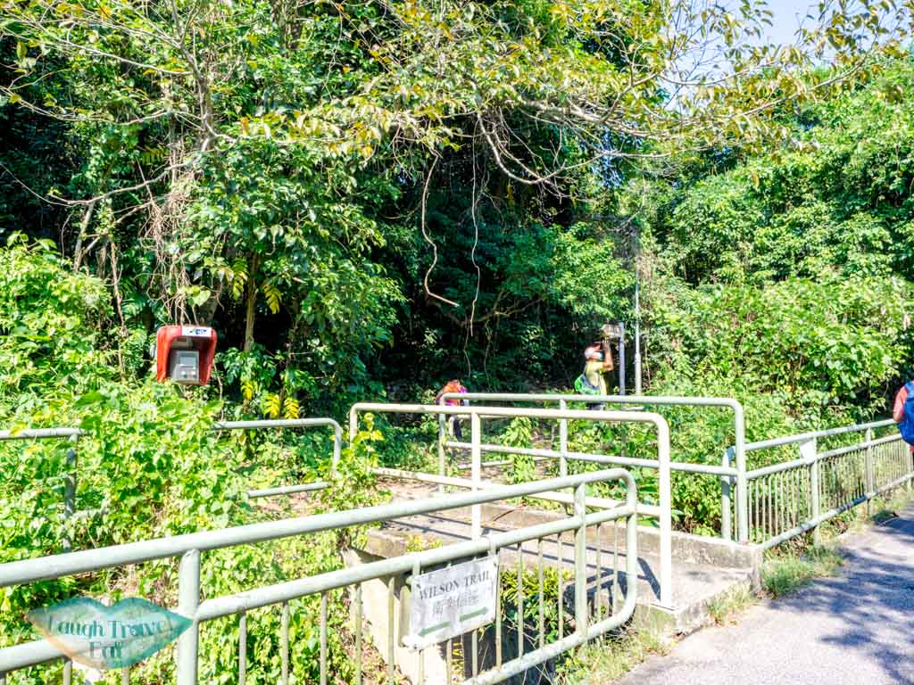 last stretch to tai lam wu to wilson trail stage 4 trail start tung yeung shan kowloon hong kong - laugh travel eat