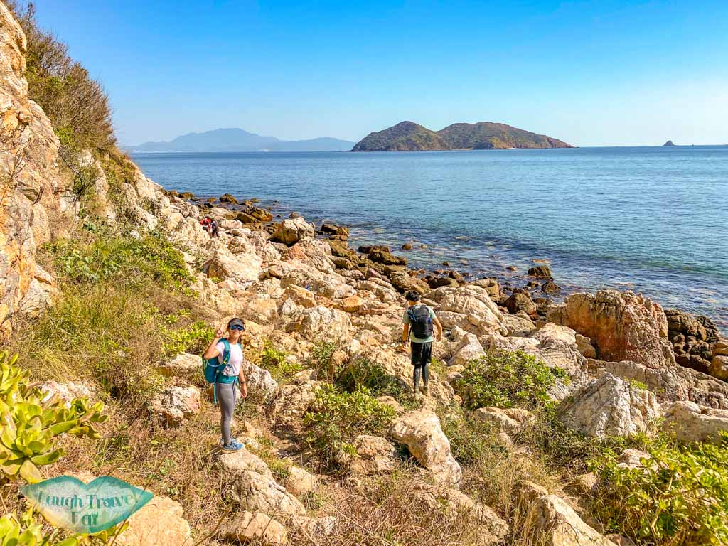 coast to devil's fist wong chuk kok tsui bluff head plover cove country park trail hong kong - laugh travel eat