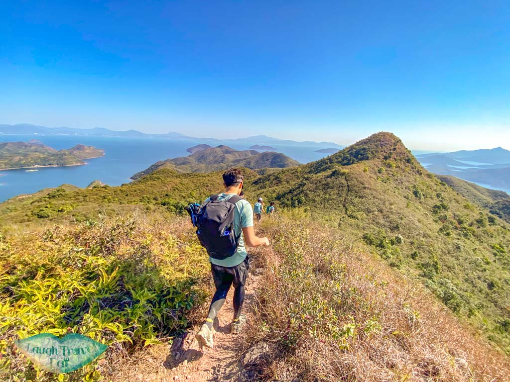 di sei kau wong chuk kok tsui bluff head plover cove country park trail hong kong - laugh travel eat