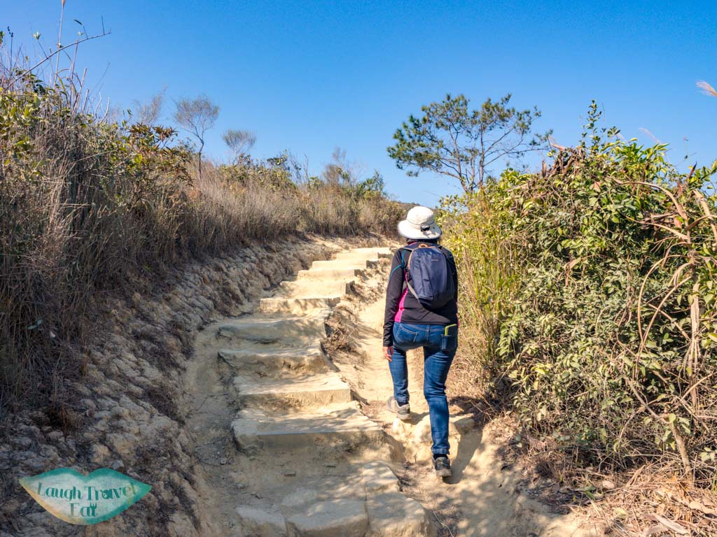last stretch to reservoir island viewpoint tai lam country park yuen long hong kong - laugh travel eat