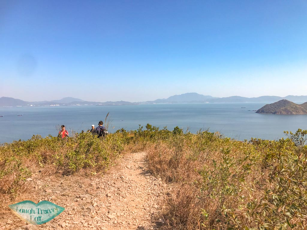 tai leng to coast wong chuk kok tsui bluff head plover cove country park trail hong kong - laugh travel eat
