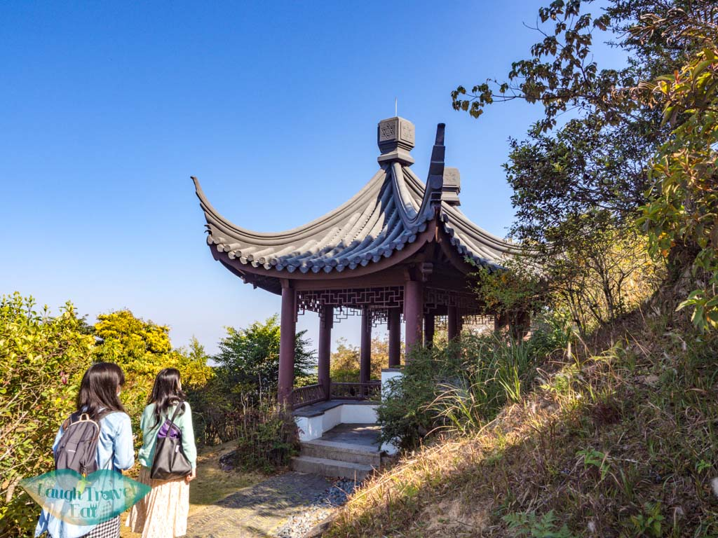 Kadoorie Brothers Memorial Pavilion upper nature reserve kadoorie farm tai po hong kong - laugh travel eat