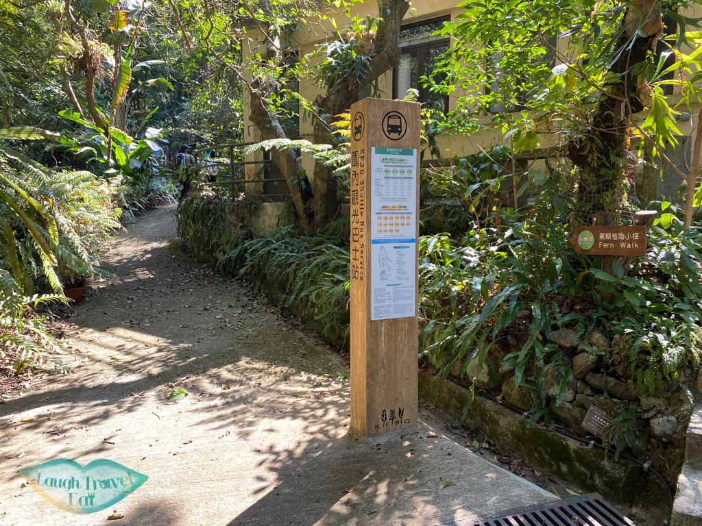 shuttle bus stop kadoorie farm tai po hong kong - laugh travel eat-2