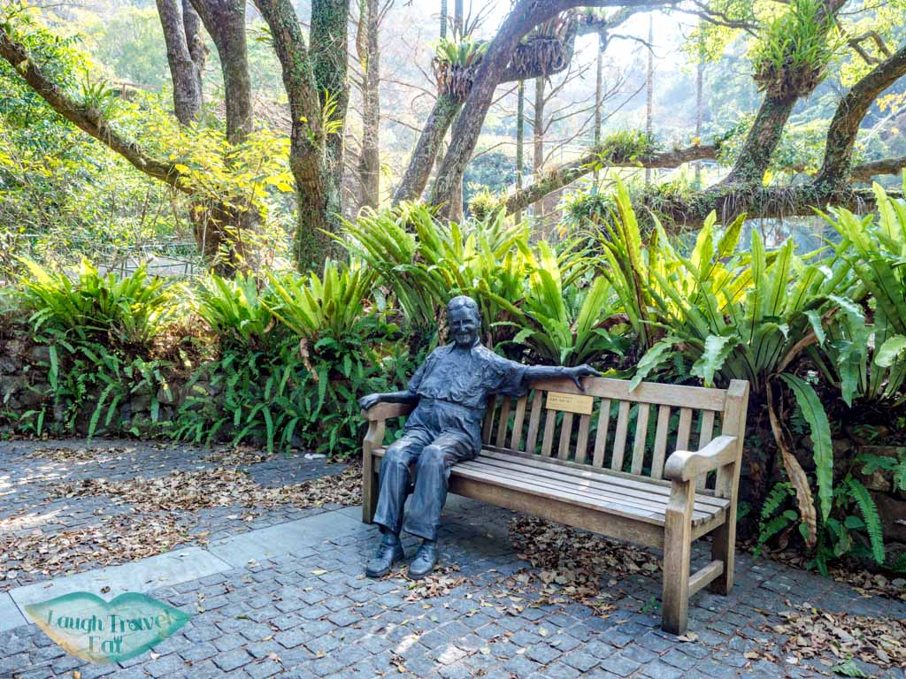 statue of kadoorie kadoorie farm tai po hong kong - laugh travel eat