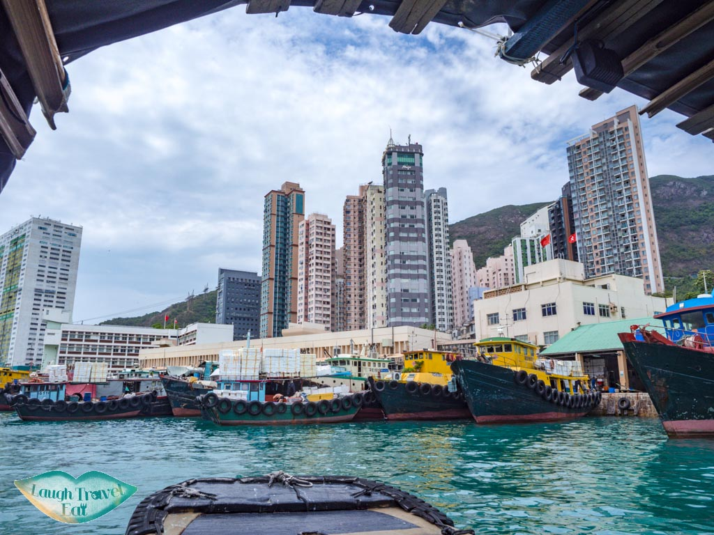 by Aberdeen Wholesale Fish Market aberdeen 1773 houseboat aberdeen hong kong island hong kong - laugh travel eat